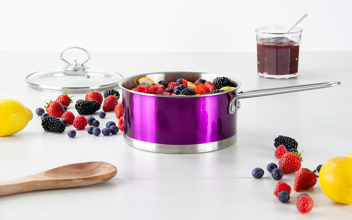 Gems Metallic Saucepan Sets - 1