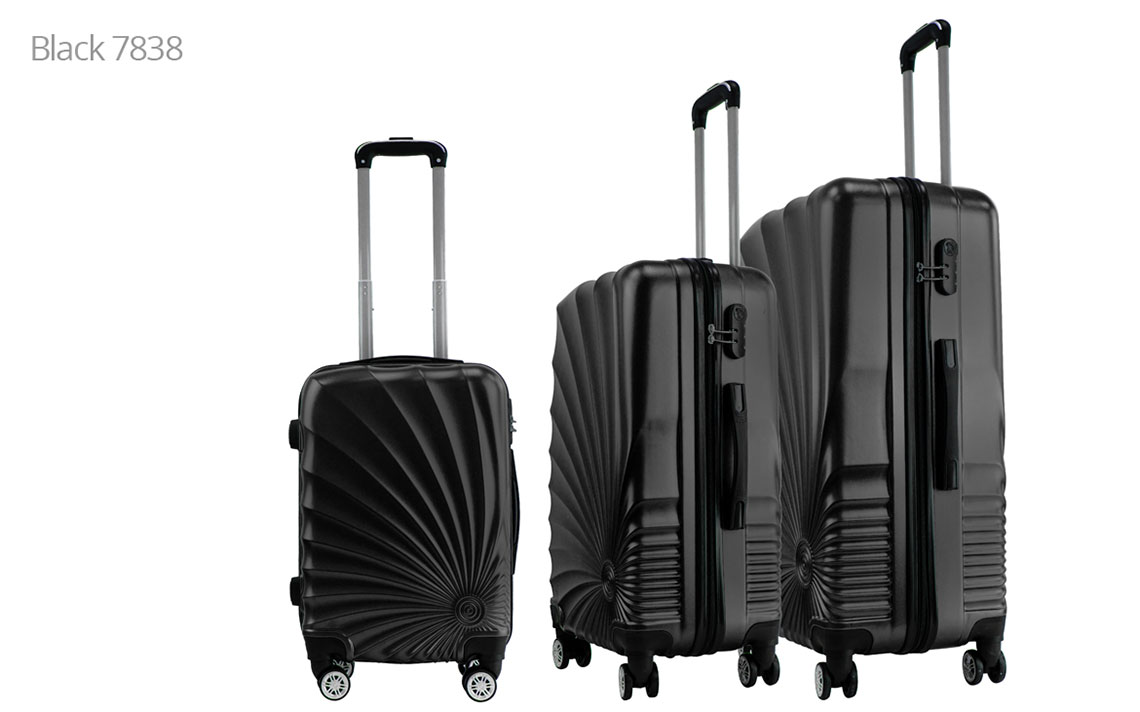 Hard Shell Luggages - 020 Set - 1