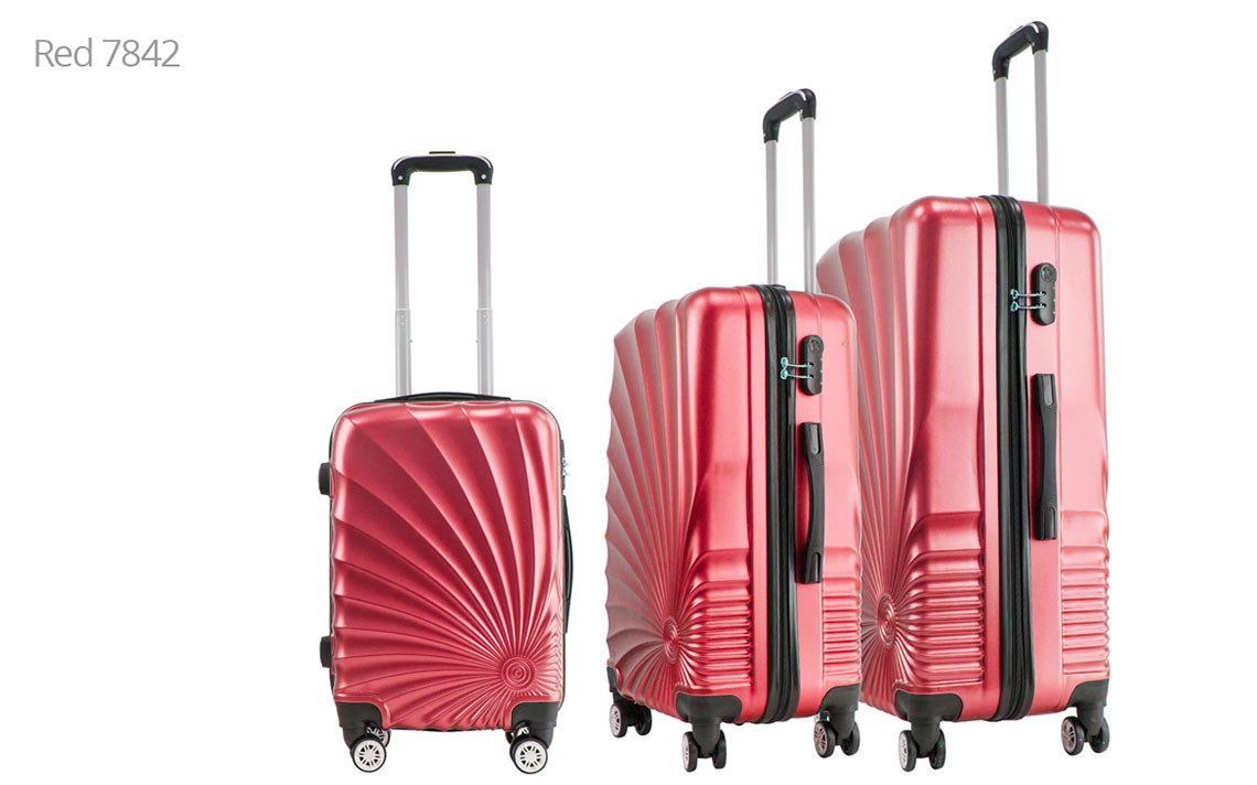 Hard Shell Luggages - 020 Set - 4