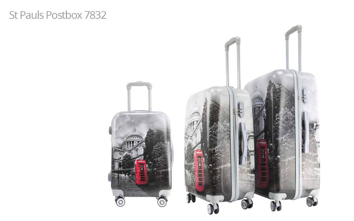 Hard Shell Luggages - London Set - 1