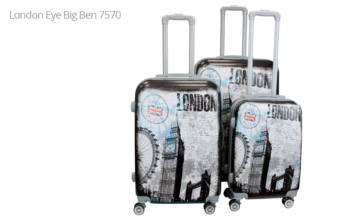 Hard Shell Luggages - London Set - 10