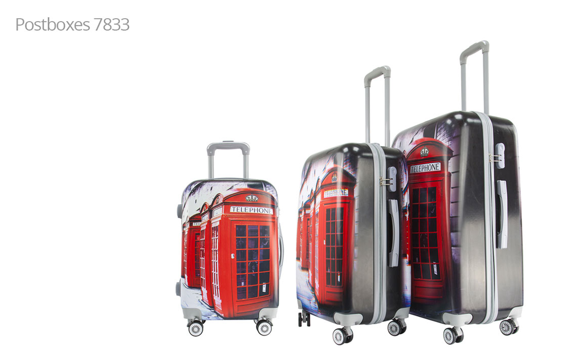 Hard Shell Luggages - London Set - 2