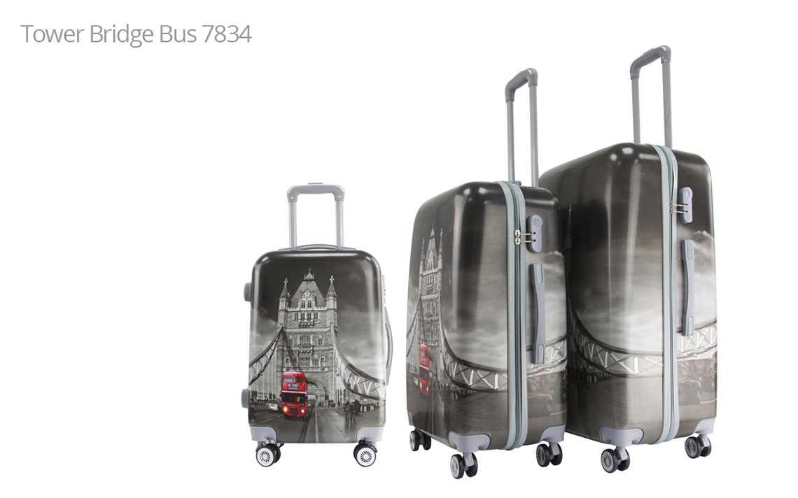 Hard Shell Luggages - London Set - 3