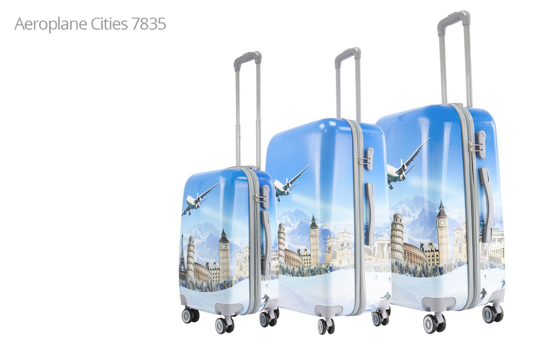Hard Shell Luggages - London Set - 4