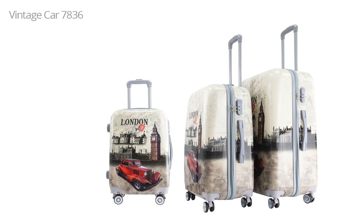 Hard Shell Luggages - London Set - 5