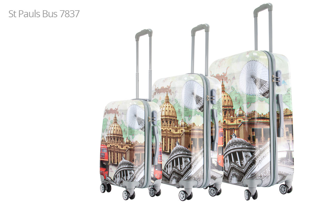 Hard Shell Luggages - London Set - 6