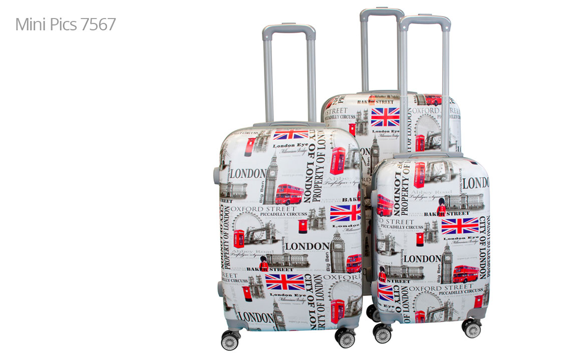 Hard Shell Luggages - London Set - 7