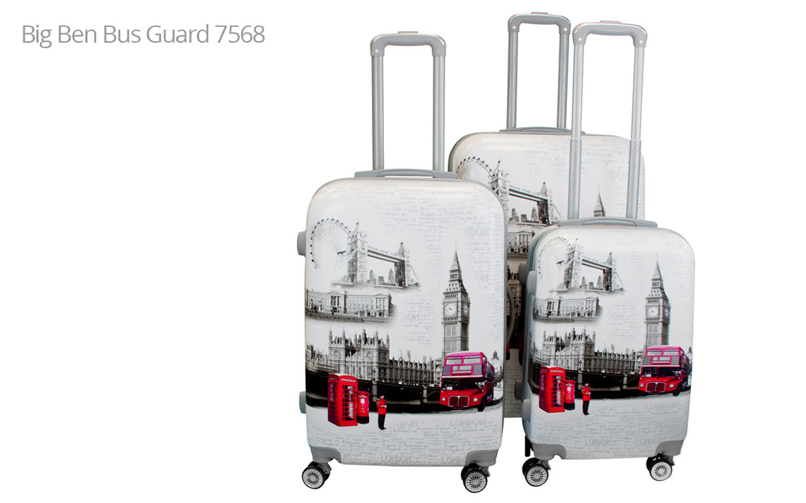 Hard Shell Luggages - London Set - 8