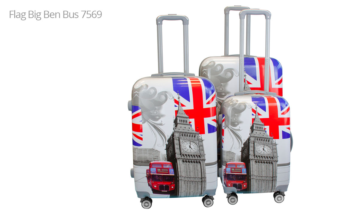 Hard Shell Luggages - London Set - 9