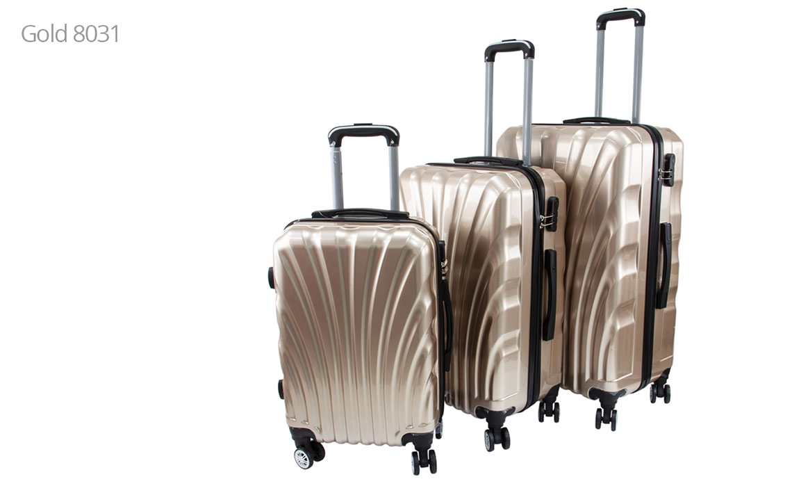 Hard Shell Luggages - Runner 002 Set - 1