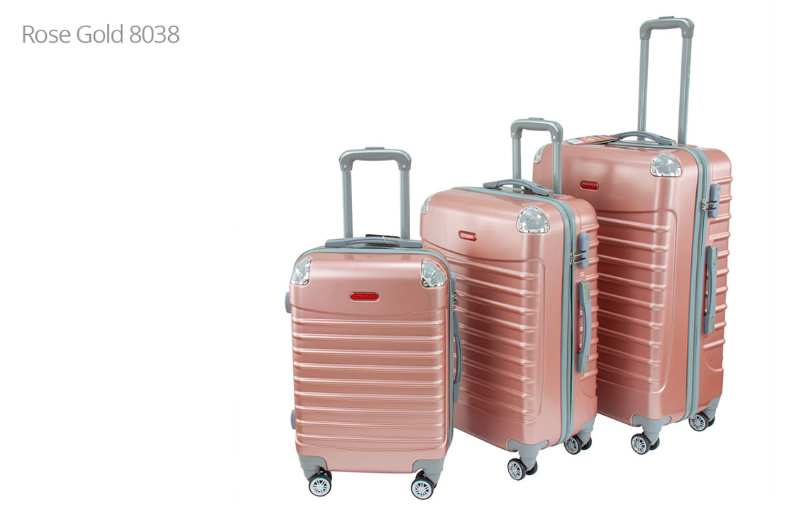 Hard Shell Luggages - Runner 006 Set - 4