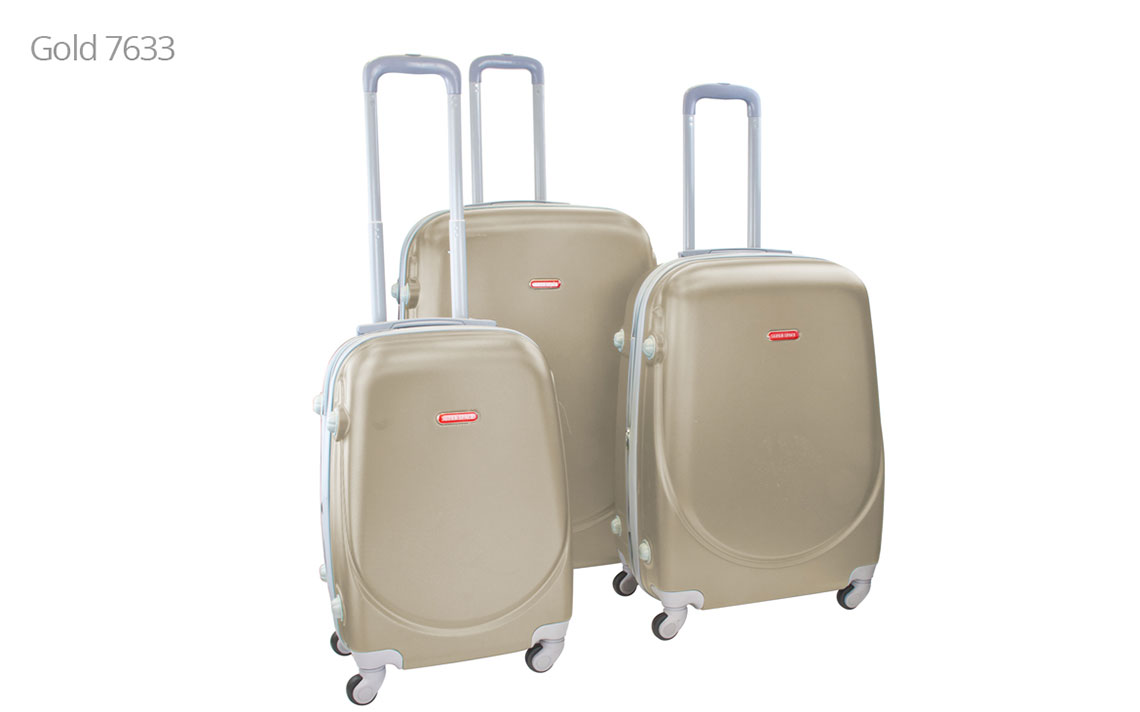 Hard Shell Luggages - Super Space 360 Set - 3