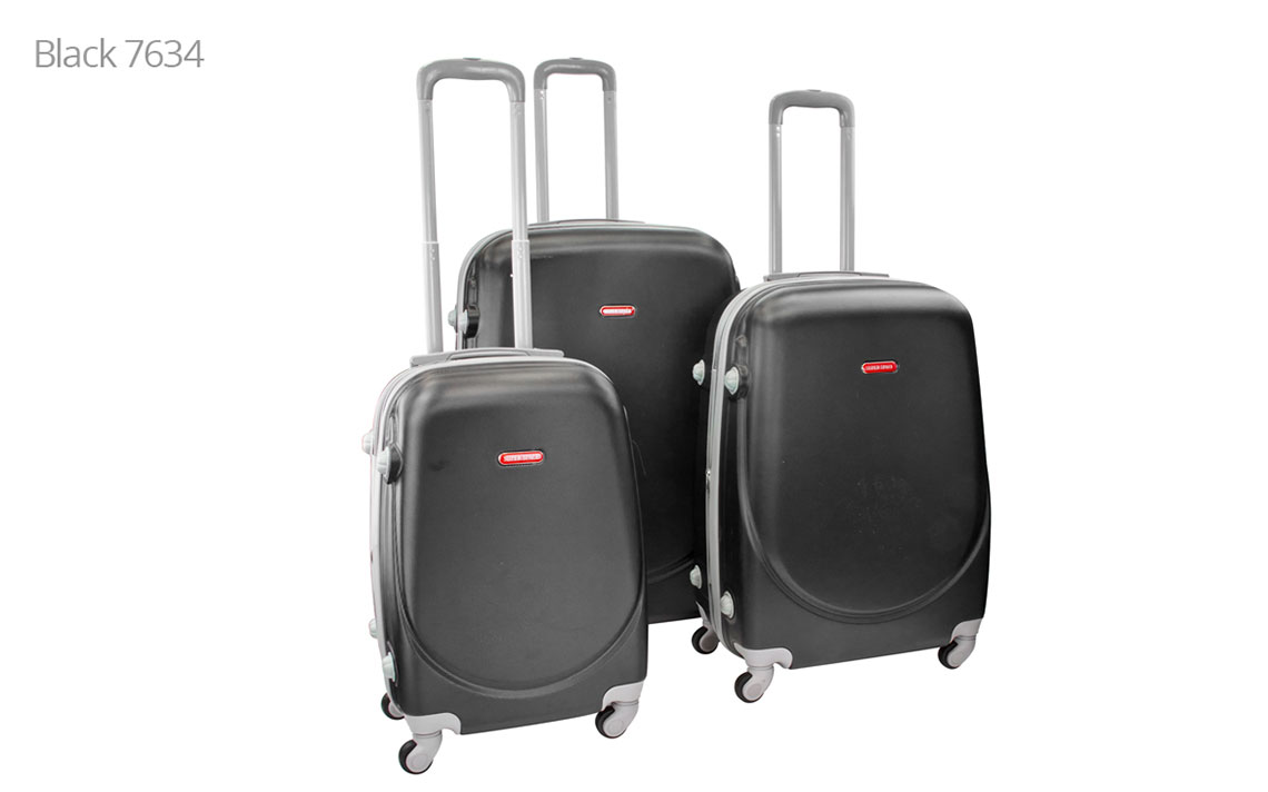 Hard Shell Luggages - Super Space 360 Set - 4