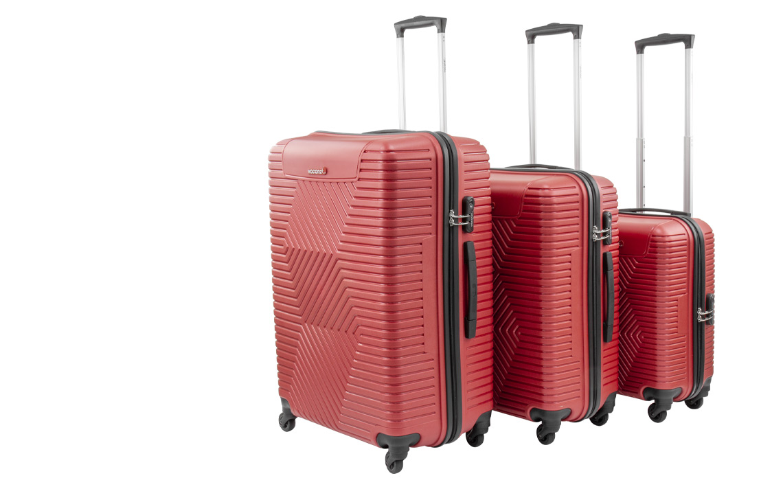 Hard Shell Luggages - Vacanze Set - 2