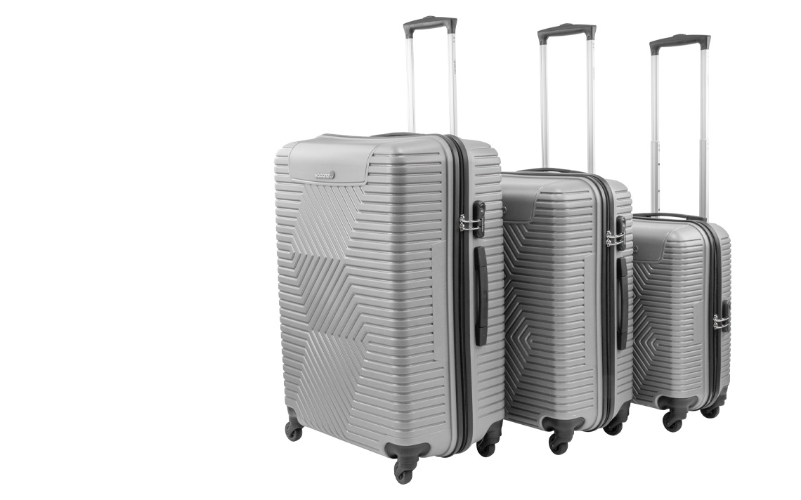 Hard Shell Luggages - Vacanze Set - 4