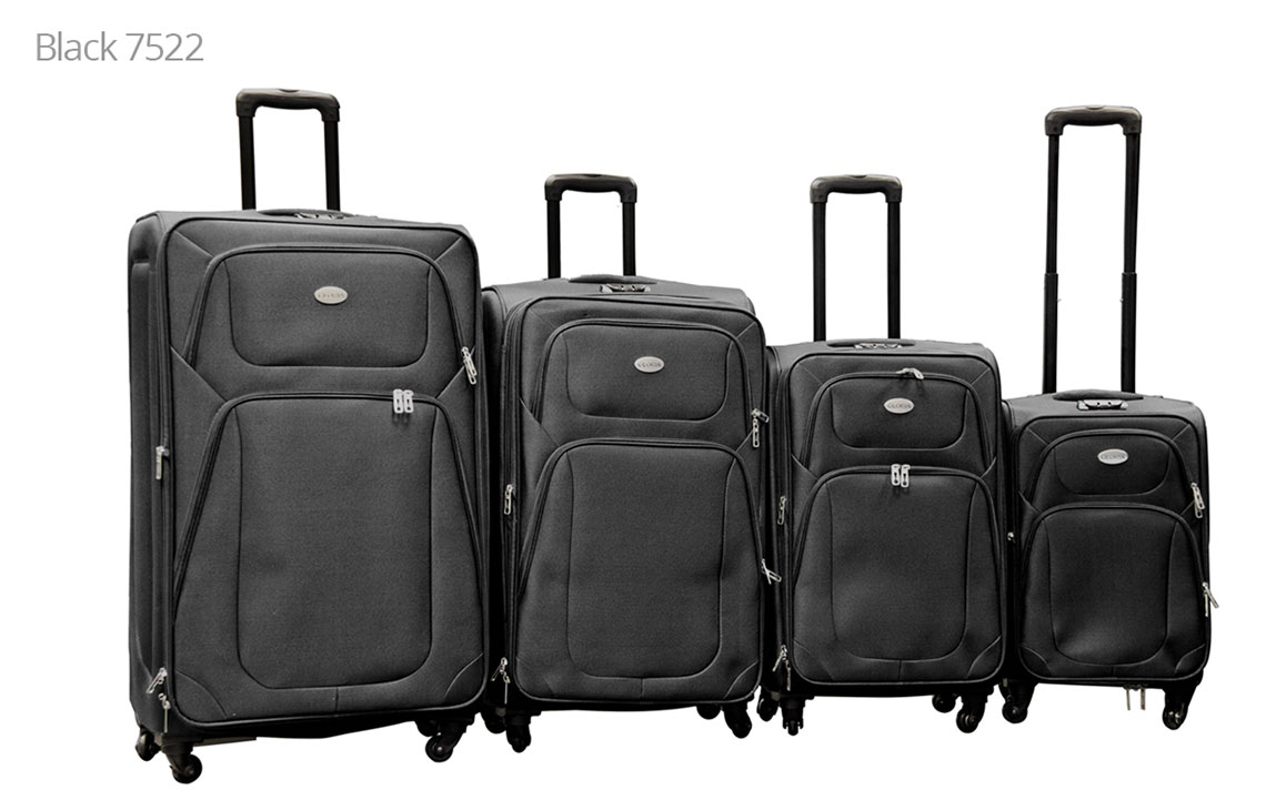 Soft Shell Luggages - 801 Set - 4