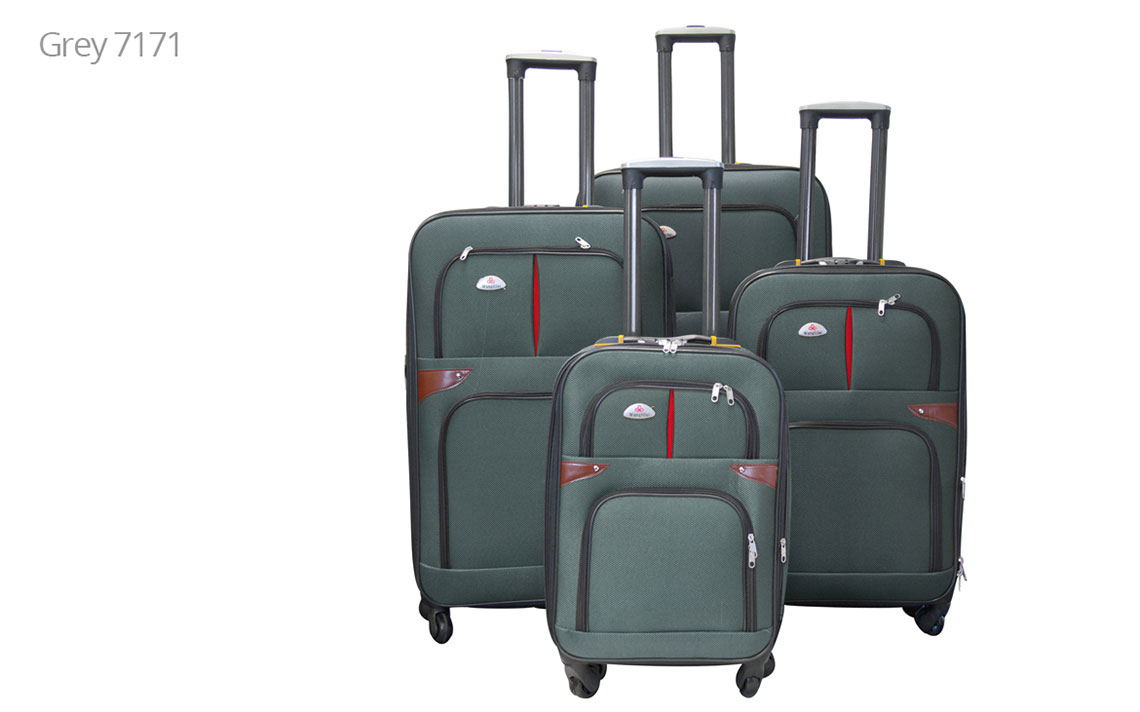 Soft Shell Luggages - 8601 Set - 1