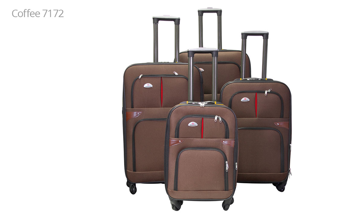 Soft Shell Luggages - 8601 Set - 2