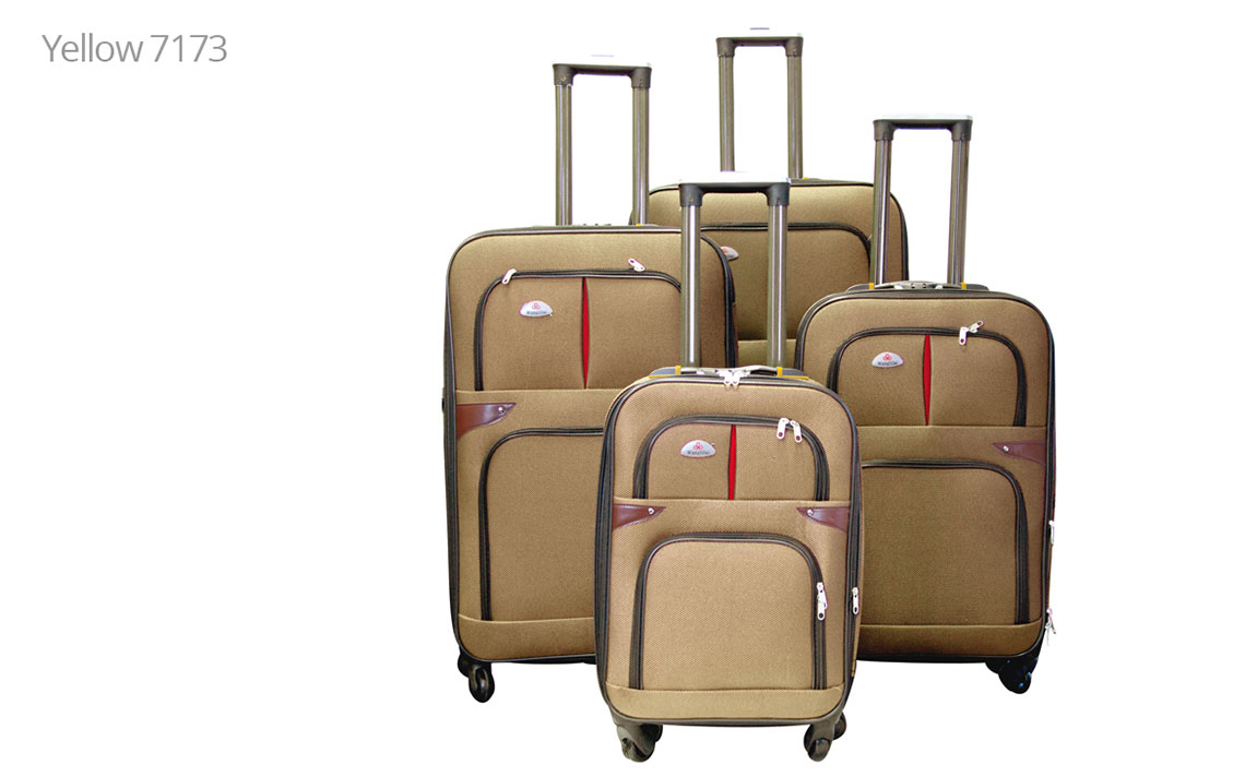 Soft Shell Luggages - 8601 Set - 3
