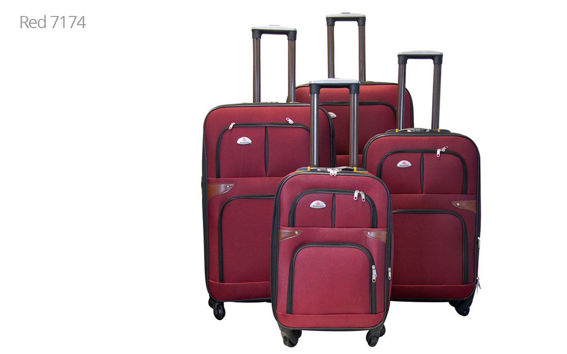 Soft Shell Luggages - 8601 Set - 4