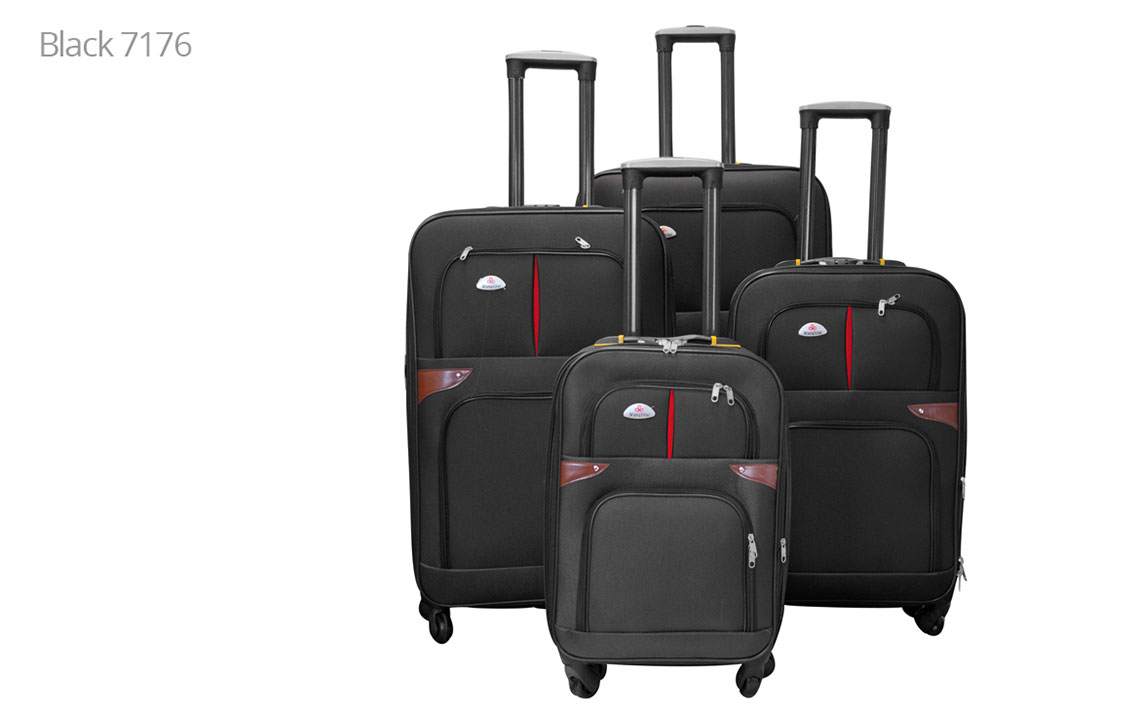 Soft Shell Luggages - 8601 Set - 6