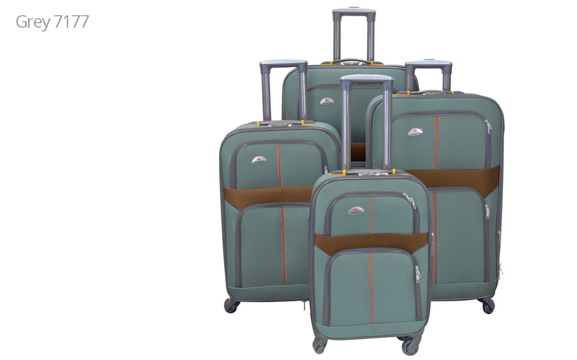 Soft Shell Luggages - 8602 Set - 1