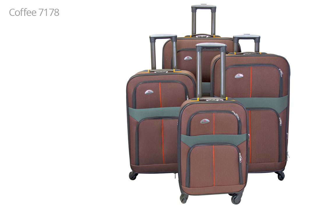 Soft Shell Luggages - 8602 Set - 2