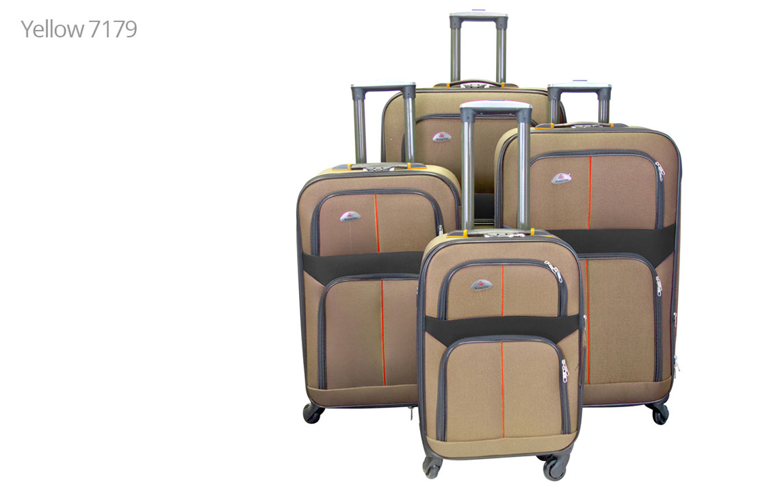 Soft Shell Luggages - 8602 Set - 3