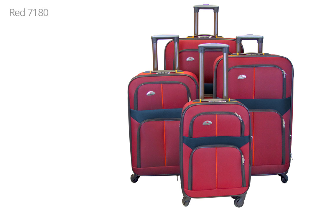 Soft Shell Luggages - 8602 Set - 4