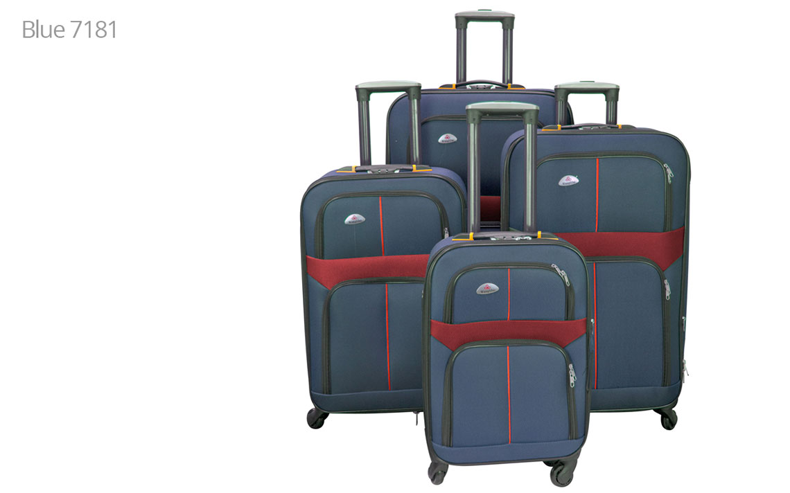 Soft Shell Luggages - 8602 Set - 5