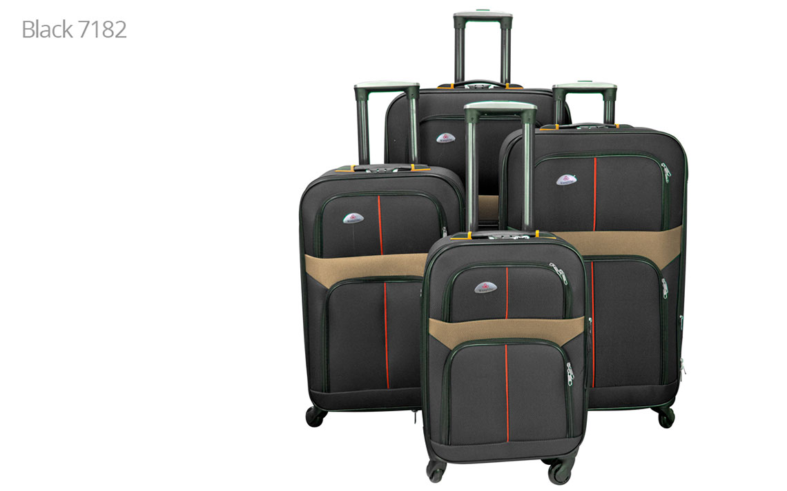 Soft Shell Luggages - 8602 Set - 6