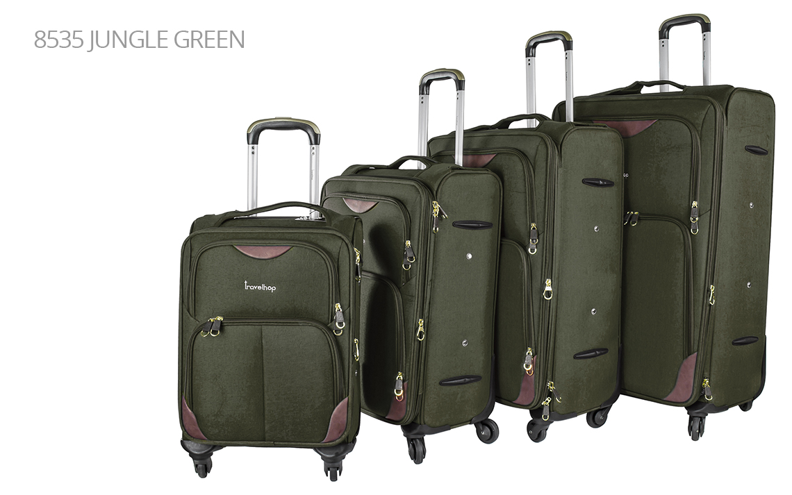 Soft Shell Luggages - Travel Hop Set - 3