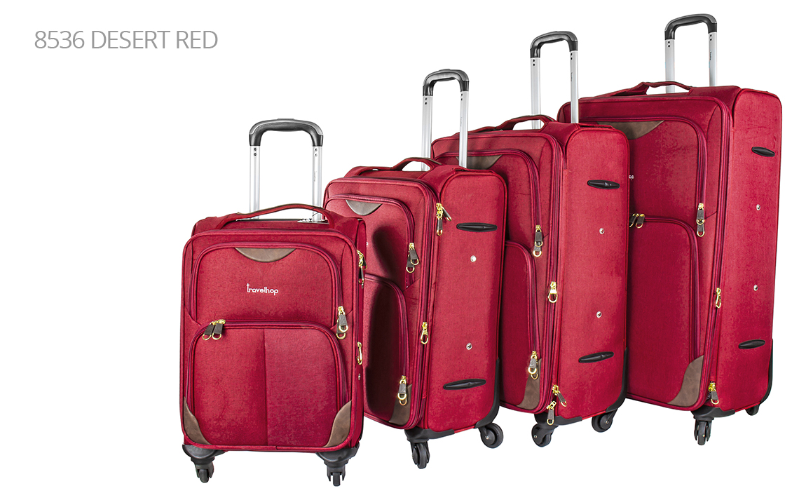 Soft Shell Luggages - Travel Hop Set - 4