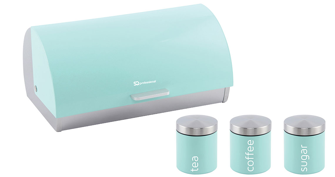 Sq Professional - Dainty Range - Bread Bin & Canisters Set