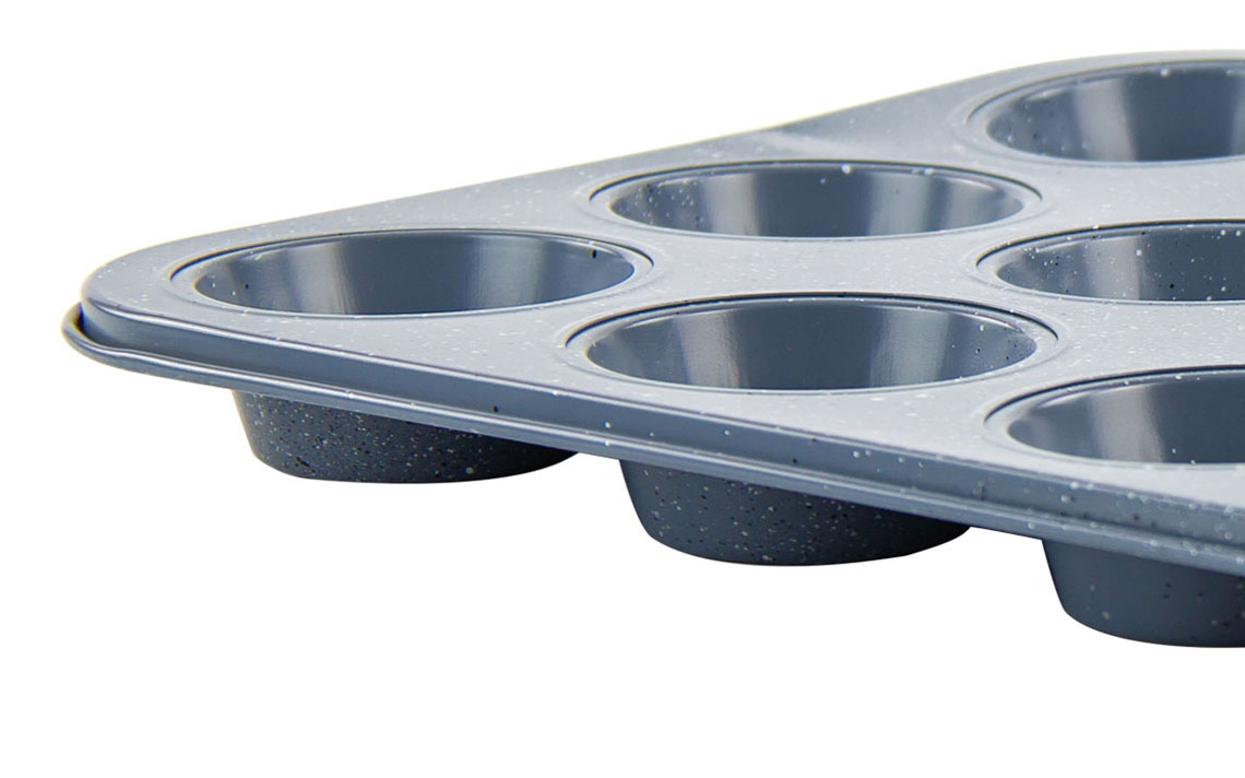 Speckled Bakeware - Muffin Tray 12 cup - 2