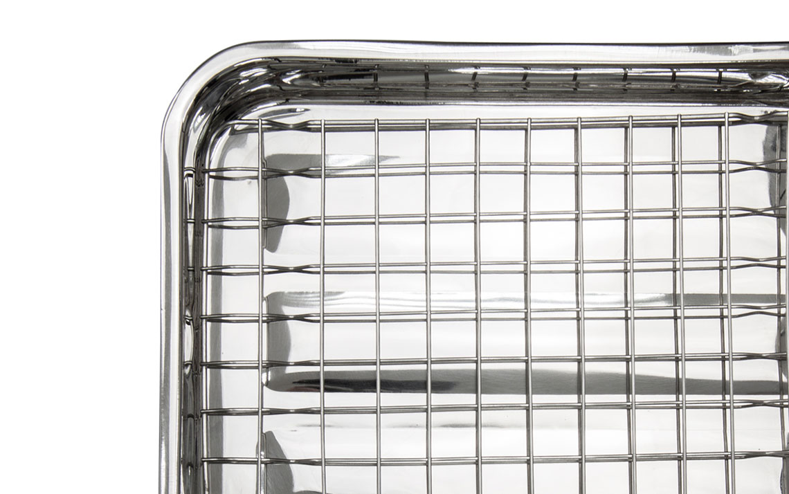 Lustro Roasting Tin with Rack - 3