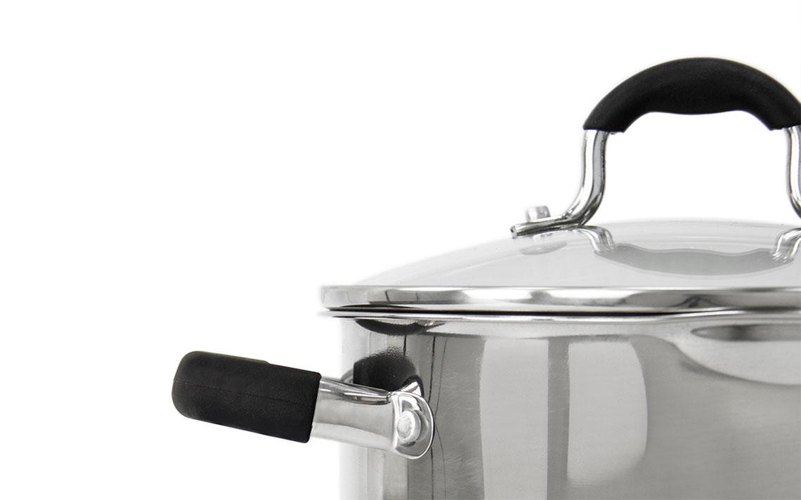 Lustro Strain and pour Saucepan