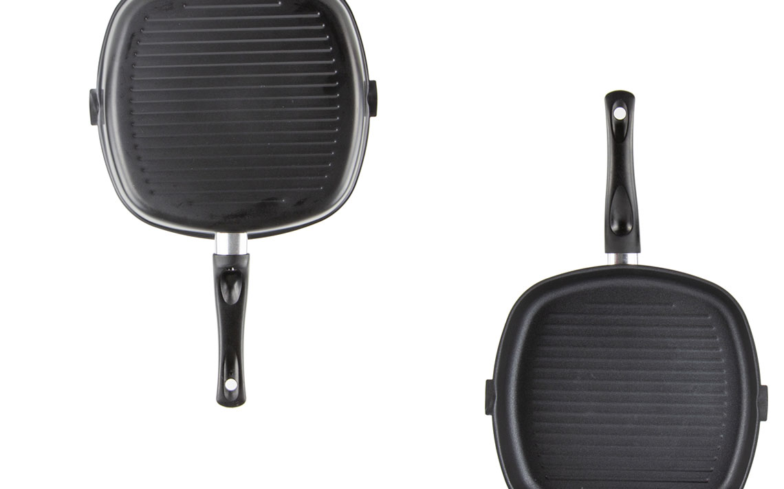 Ultimate Carbon Steel nonstick Square Grill Pan - 4