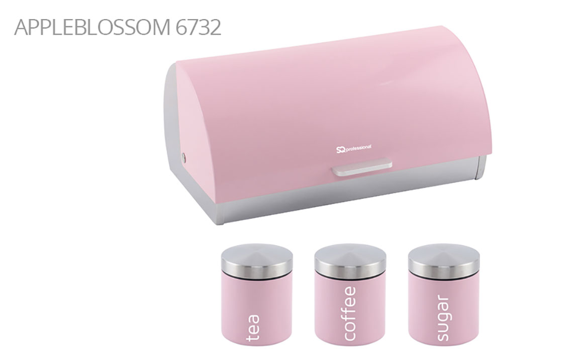Sq Professional - Dainty Range - Bread Bin & Canisters Set colour 4