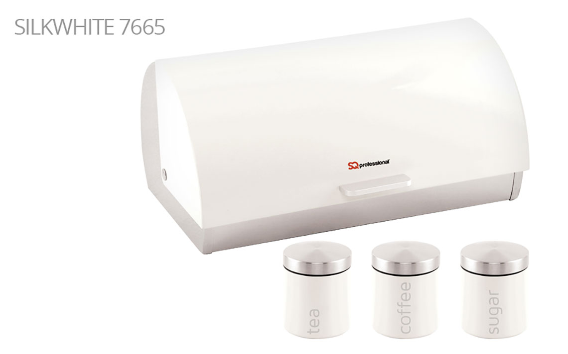 Sq Professional - Dainty Range - Bread Bin & Canisters Set colour 1