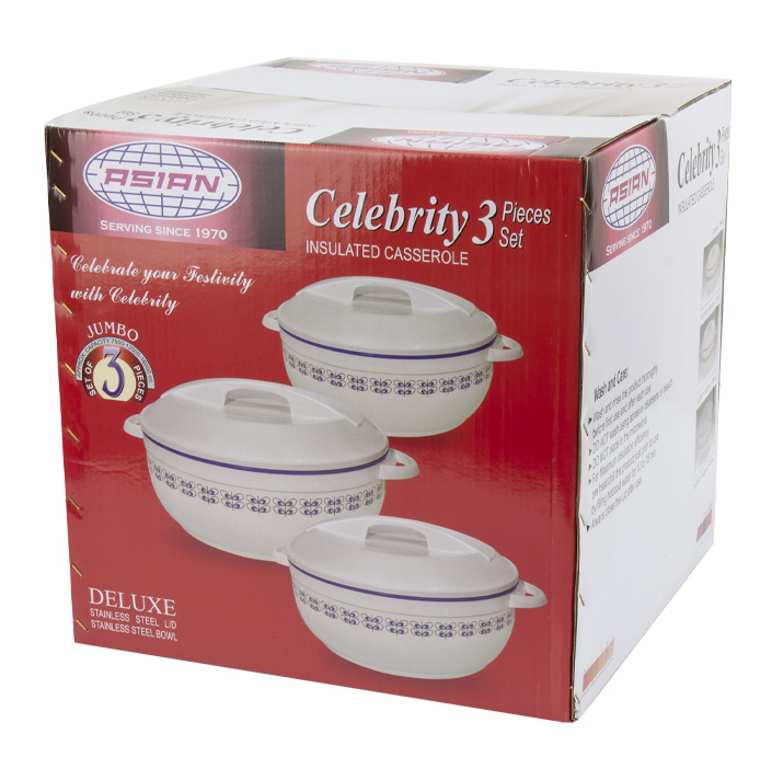 Hot Pots - Celebrity Food Warmer - Box