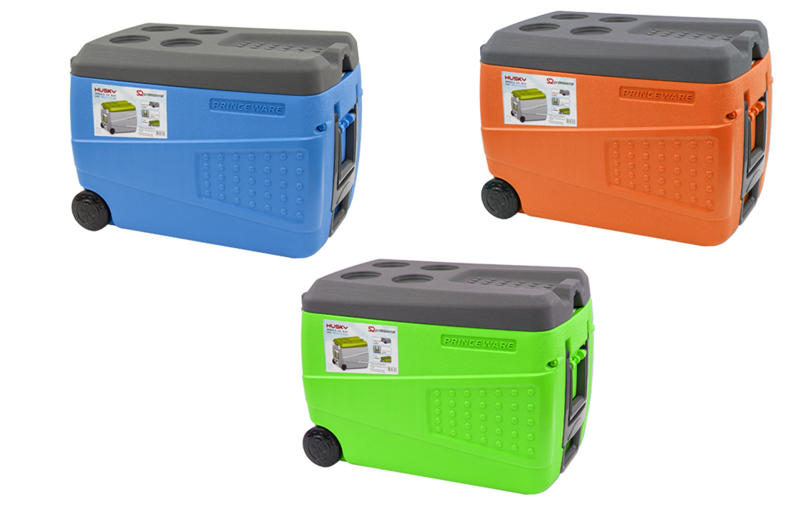 SQ Professional - Ice Chests - Husky - Ice Box with Wheels view