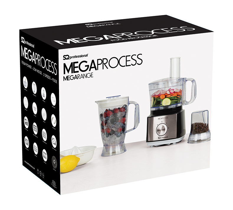 MegaProcess Food processor - Box