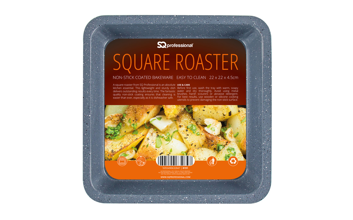 Sq Professional - Speckled Bakeware - Square Roaster