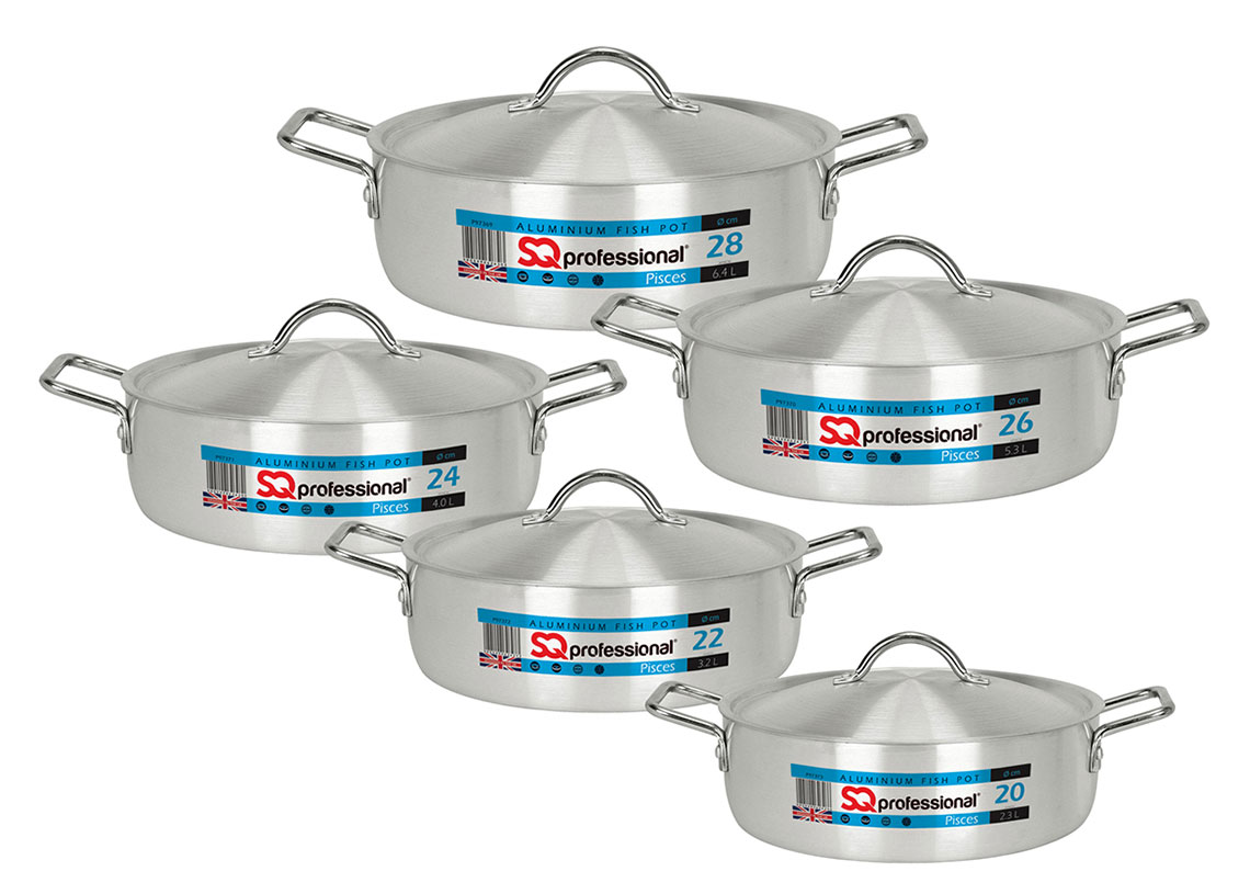 Sq Professional - Galaxis Range - Pisces Fish Pot Set