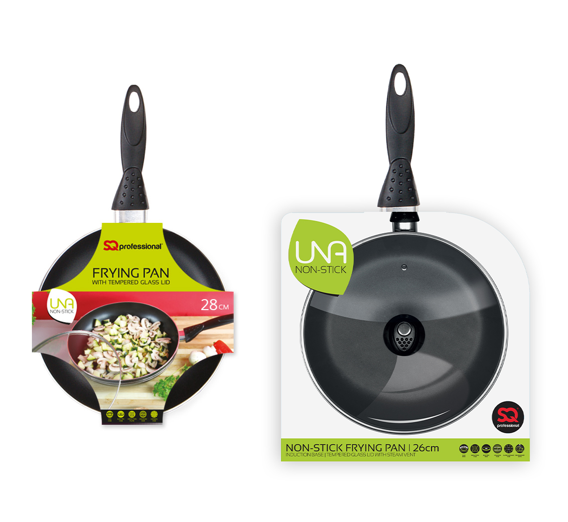 Sq Professional - una nonstick Frying Pan with Lid