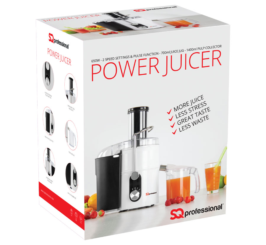 Sq Professional - Blitz range - Power Juicer