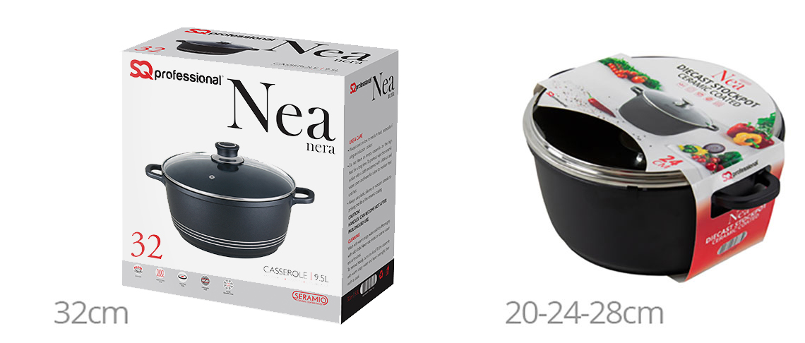 Nea Seramiq stockpot medium - Box
