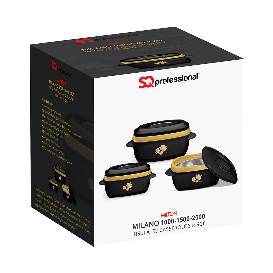 SQ Professional - Hot Pots - Milano Food Warmer BOX