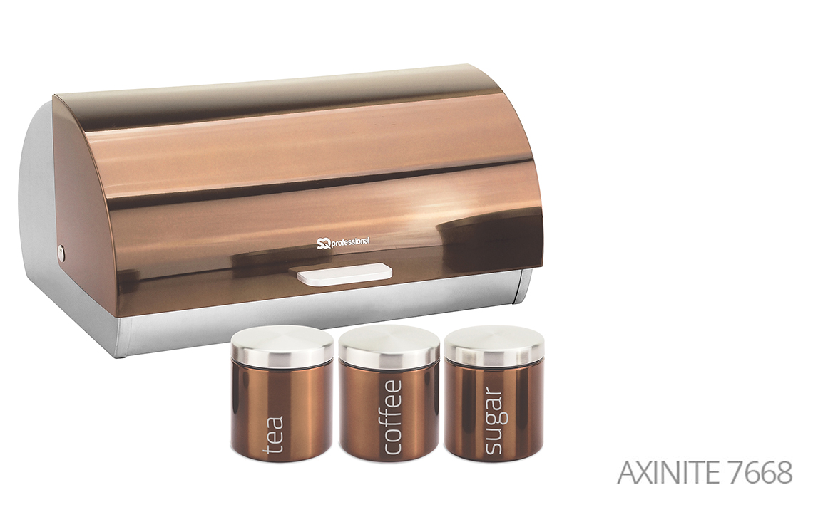 Sq Professional -  Gems Range - Bread Bin & Canisters Set colour 8